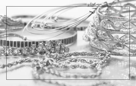 Изделия<br>из серебра