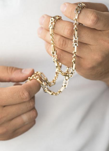 Мужские золотые цепи