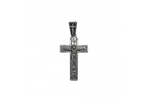 Серебряный крестик (3543)