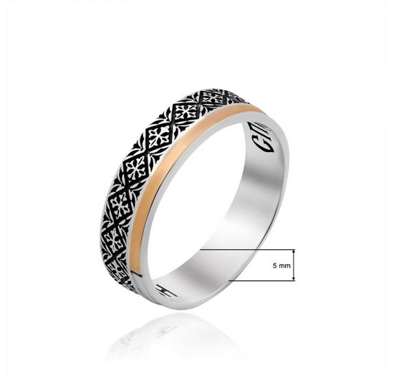 Серебряное кольцо - 2