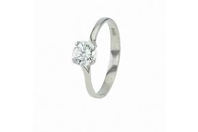 Серебряное кольцо (10101)
