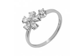 Серебряное кольцо (10382)