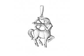 """Серебряная подвеска """"Стрелец"""" (3085-9)"""