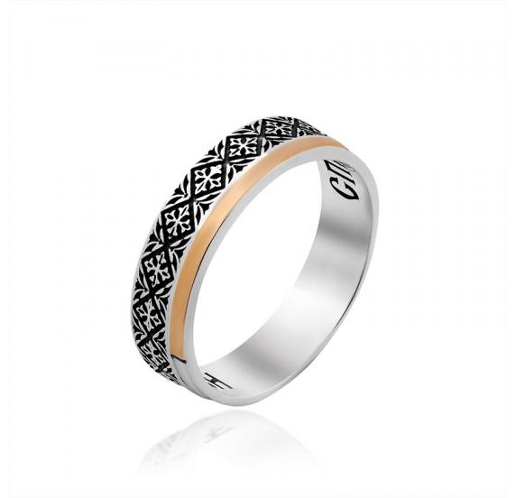 Серебряное кольцо - 1