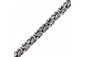 "Серебряная цепочка ""Лисий хвост"" 8мм (1048)"