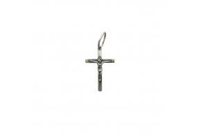 Серебряный крестик (3700-ч)