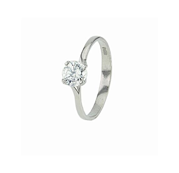 Серебряное кольцо (10101) - 1