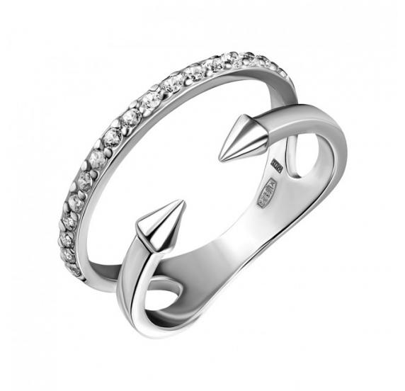 Серебряное кольцо (10445-1) - 1