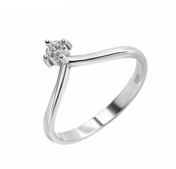 Серебряное кольцо (10502) - 1