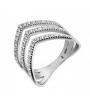 Серебряное кольцо (10314) - 1