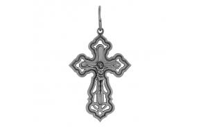 Серебряный крестик (3350Ч)