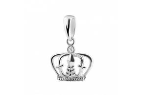 """Серебряная подвеска """"Корона"""" (30043)"""