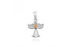 """Серебряная подвеска """"Ангел"""" (328п)"""