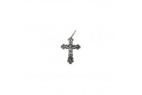 Серебряный крестик (3747-ч)