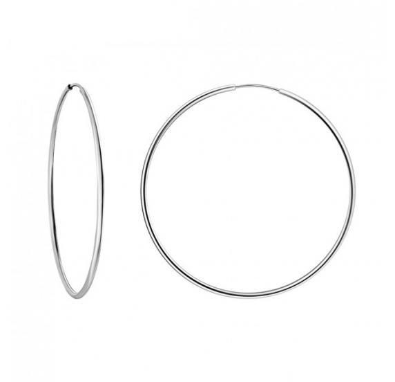 Серебряные серьги - 1